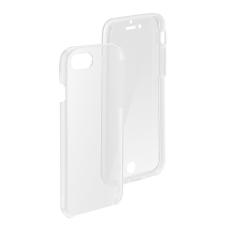 Samsung Galaxy S10e SM-G970, TPU szilikon tok, előlapi, és műanyag hátlapi védelem, 360 Full Cover, átlátszó tok és táska
