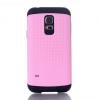 Samsung Galaxy S5 Mini SM-G800, Műanyag hátlap védőtok, Defender, ütésálló, rózsaszín