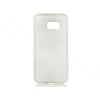 Samsung Galaxy S7 Edge SM-G935, TPU szilikon tok, Jelly Brush, szálcsiszolt mintázat, fehér