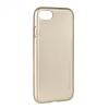 Samsung Galaxy S7 SM-G930, TPU szilikon tok, Mercury i-Jelly, matt hatású, arany