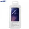 Samsung Galaxy S8 Plus SM-G955, Kijelzővédő fólia (az íves részre is!), Clear Prémium, 2 db/csomag, gyári, ET-FG955CTEG