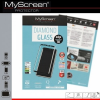 Samsung Galaxy S8 Plus SM-G955, Kijelzővédő fólia, ütésálló fólia (az íves részre is!), MyScreen Protector, Diamond Glass (Edzett gyémántüveg), 3D Full Cover, fekete