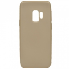 Samsung Galaxy S9 SM-G960, TPU szilikon tok, arany
