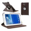 Samsung Galaxy Tab 3 Lite 7.0 SM-T110, mappa tok, elforgatható (360°) barna