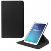 Samsung Galaxy Tab E 9.6 SM-T560 / T561, mappa tok, elforgatható (360°), fekete