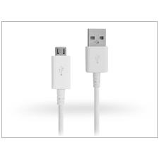 Samsung gyári micro USB adat- és töltőkábel 80 cm-es vezetékkel - ECB-DU68WE white (csomagolás nélküli) tok és táska