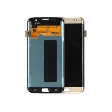 Samsung Gyári Samsung G935 S7 Edge LCD modul arany színben ORG mobiltelefon kellék