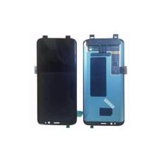 Samsung Gyári Samsung G955 S8 Plus LCD modul ezüst színben ORG mobiltelefon kellék