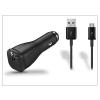 Samsung gyári USB szivargyújtós töltő adapter + micro USB adatkábel - 5V/2A - EP-LN915U+ECB-DU4ABE black - Adaptive Fast Charging (csomagolás nélküli)