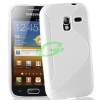 Samsung I8160 Galaxy Ace 2 fehér szilikon tok