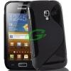 Samsung I8160 Galaxy Ace 2 fekete szilikon tok