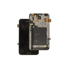 Samsung i9220 (N7000) Galaxy Note lcd kijelző érintőpanellel fekete** mobiltelefon előlap