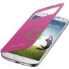Samsung I9500 Galaxy S4 pink ablakos tok EF-CI950BP