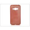 Samsung J120F Galaxy J1 (2016) szilikon hátlap - Jelly Brush - piros