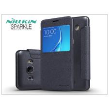 Samsung J510FN Galaxy J5 (2016) oldalra nyíló flipes tok - Nillkin Sparkle - fekete tok és táska