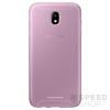Samsung J530 Galaxy J5 (2017) gyári Jelly Cover hátlap tok, rózsaszín, EF-AJ530TP, (SM-J530)