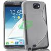 Samsung N7100 Note 2 füst szilikon tok