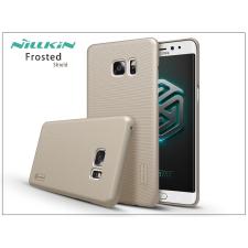 Samsung N930F Galaxy Note 7 hátlap képernyővédő fóliával - Nillkin Frosted Shield - gold tok és táska