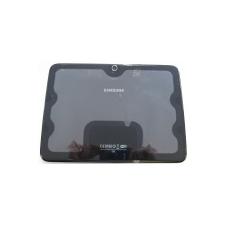 Samsung P5210 Galaxy Tab 3 10.1 Wifi hátlap fekete* tablet kellék