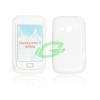 Samsung S6500 Galaxy Mini 2 fehér szilikon tok