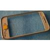 Samsung S6802 Galaxy Ace Duos előlap keret sárga*