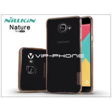 Samsung Samsung A710F Galaxy A7 (2016) szilikon hátlap - Nillkin Nature - barna tok és táska