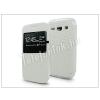 Samsung Samsung G3500 Galaxy Core Plus S-View Flexi oldalra nyíló flipes tok - fehér