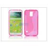 Samsung Samsung SM-G900 Galaxy S5 szilikon hátlap - S-Line - pink