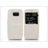 Samsung Samsung SM-G920 Galaxy S6 S-View Flexi oldalra nyíló flipes tok - fehér
