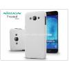 Samsung SM-A800 Galaxy A8 hátlap képernyővédő fóliával - Nillkin Frosted Shield - fehér