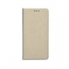 Samsung Smart magnet Samsung A600 Galaxy A6 oldalra nyíló mágneses könyv tok szilikon belsővel arany