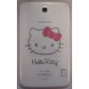 Samsung T210 Galaxy Tab 3 7.0 Wifi hátlap (akkufedél) fehér Hello Kitty*