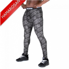 SAN JOSE MEN'S TIGHTS - BLACK/GREY (BLACK/GREY) [4XL]