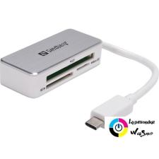 Sandberg 136-10 USB-C multi kártyaolvasó memóriakártya