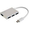 SANDBERG USB-C to 4 xUSB 3.0 Pocket Hub