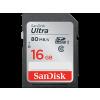 Sandisk 139766 sdhc ultra 16GB 80MB/s, class 10, memóriakártya, fekete (SDSDUNC-016G-GN6IN)