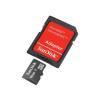 Sandisk MICRO SDHC CARD 16GB SANDISK + SD adapter (SDSDQB-016G-B35)