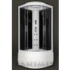 Sanimix 22.1045 BLACK/WHITE hidromasszázs zuhanykabin