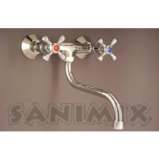 Sanimix CSILLAG fali mosogató csaptelep konyhai eszköz