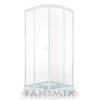 Sanimix Sanimix 22.1502 W light negyedköríves zuhanykabin tálcával