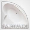 Sanimix Sanimix Akril sarok fürdőkád 140x140 29.140140