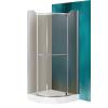 Sanipro Denver 90x90 cm-es zuhanykabin Dream P tálcával