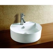 Sanotechnik K304 Kerámiamosdó, síklapos, kerek fürdőkellék