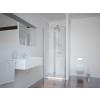 Sanotechnik Smartflex zuhanyfülke harmónika ajtó Cikkszám: D12100FL - balos kivitel