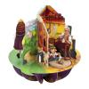 Santoro Aladdin, Csizmás kandúr, Pinokkió Pirouettes 3D Képeslap - Aladdin, Csizmás Kandúr, Pinokkió - PS071