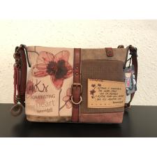 Santoro Bordó Megumi Válltáska - 27612-01 kézitáska és bőrönd