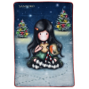 Santoro Christmas Friend Gorjuss Mikroszálas Plüss Takaró - SA07254