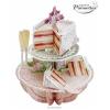Santoro Esküvői Torta Pirouettes 3D Képeslap - Esküvői Torta - PS045
