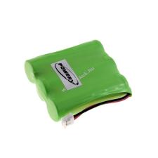 Sanyo Utángyártott akku Sanyo típus GES-PCF03 vezeték nélküli telefon akkumulátor