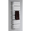 Sapho VOLGA NR510 radiátor, szálcsiszolt inox, 500x976 cm, 308W